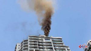 Cháy chung cư cao cấp Hoàng Hoa Thám